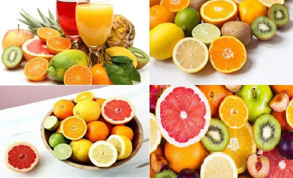 fruits et légumes vitamine C