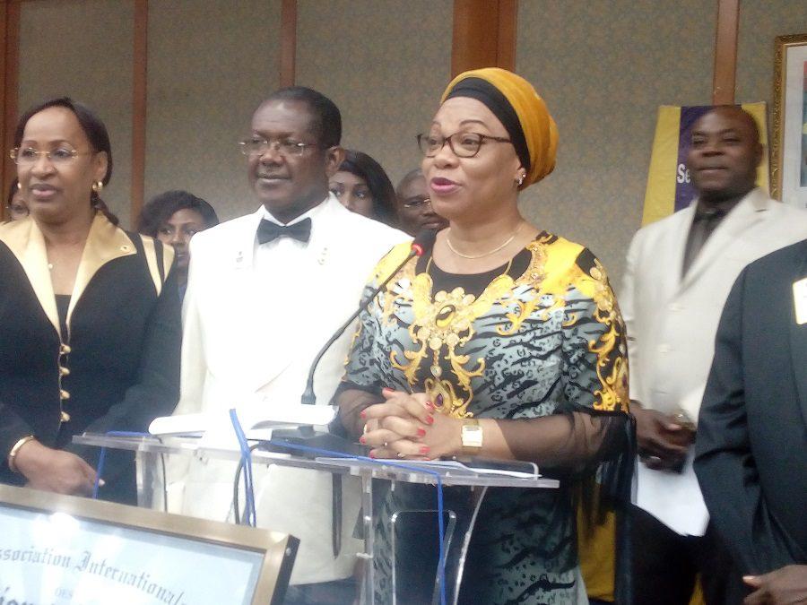 le ministre en charge de la femme Marie Laurence Ilboudo